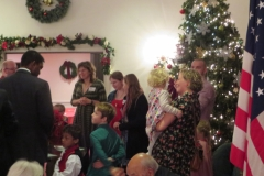 Christmas Party at the Colonies 2014